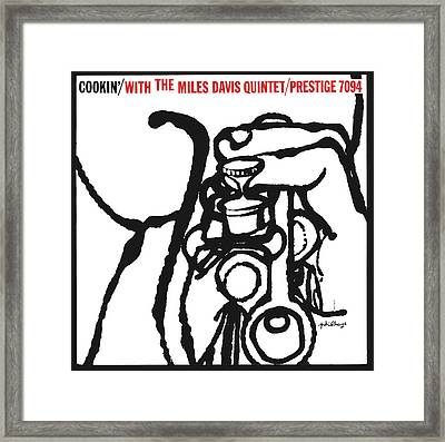 Miles Davis Quintet -  Cookin' With The Miles Davis Quintet Framed Print