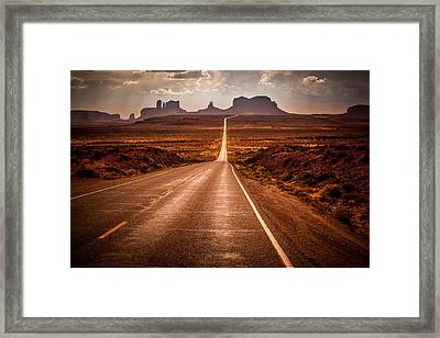 Miles To Go Framed Print by Jennifer Grover