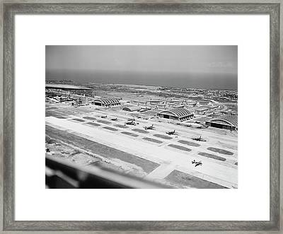 Military Base Of The United States Army Framed Print by Stocktrek Images