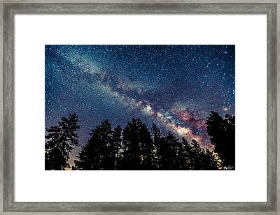 Milky Way Framed Print by Abe Blair