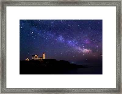 Milky Way Framed Print by Jatinkumar Thakkar