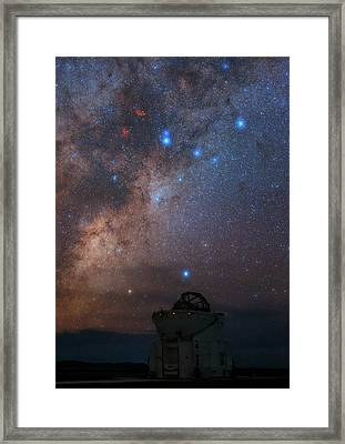 Milky Way Over Paranal Observatory Framed Print