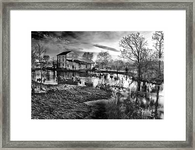 Mill By The River Framed Print