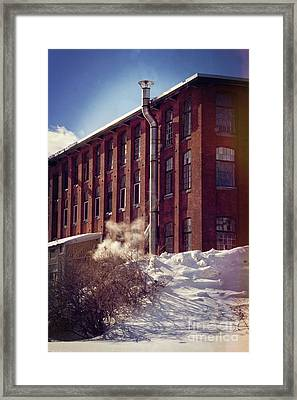 Mill Framed Print by HD Connelly