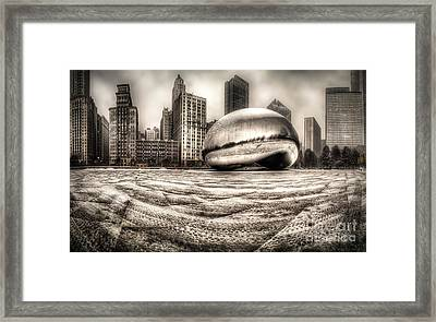 Millennium Park In Chicago Framed Print by Twenty Two North Photography