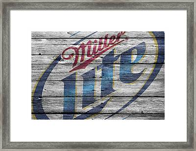 Miller Framed Print by Joe Hamilton