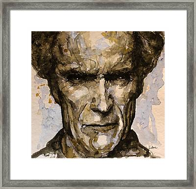 Framed Print featuring the painting Million Dollar Baby by Laur Iduc