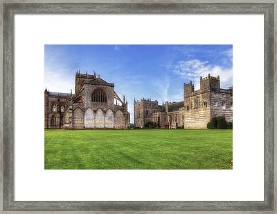 Milton Abbey Framed Print by Joana Kruse