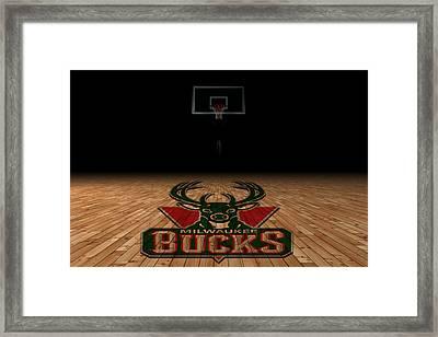 Milwaukee Bucks Framed Print by Joe Hamilton