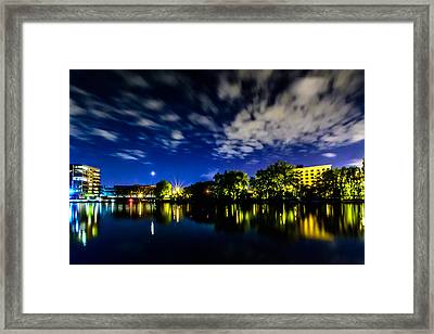 Milwaukee Riverwalk Framed Print