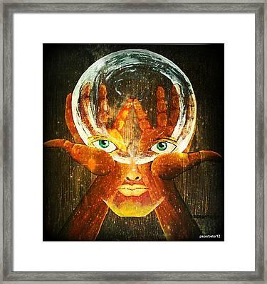 Mind Framed Print by Paulo Zerbato