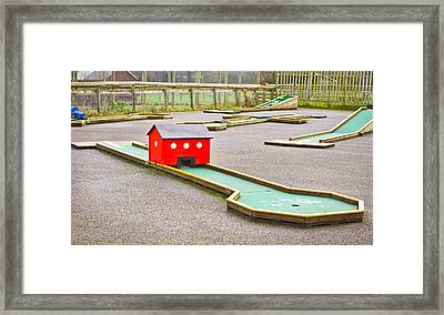 Mini Golf Framed Print by Tom Gowanlock