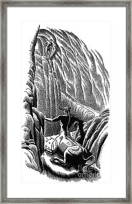 Minotaur, Legendary Creature Framed Print by Photo Researchers