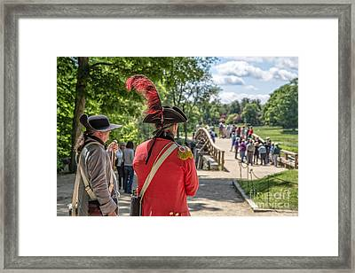 Minute Man National Historical Park Framed Print