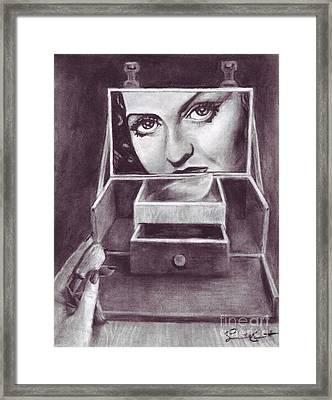 1 Minute Miss Davis Framed Print