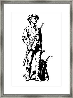Minuteman Framed Print by Granger