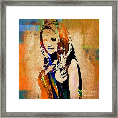 Miranda Lambert Collection Framed Print