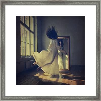 Mirror Framed Print by Anka Zhuravleva