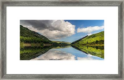 Mirror Lake Framed Print by Adrian Evans