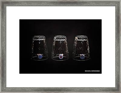 Missing Impossible Framed Print by Alexander Senin