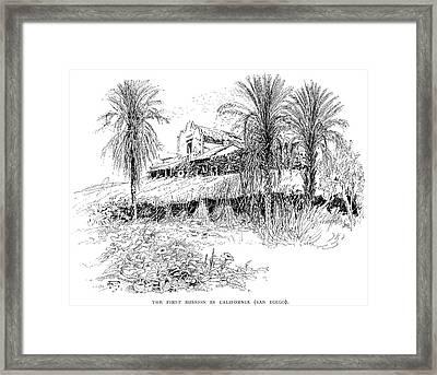 Mission California Framed Print