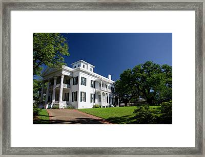 Mississippi, Natchez Framed Print by Cindy Miller Hopkins