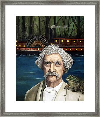 Mississippi Sam Framed Print by Leah Saulnier The Painting Maniac
