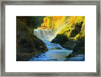 Misty Framed Print by Kathleen Struckle
