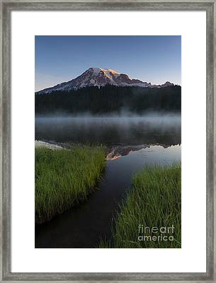 Misty Majesty Framed Print by Mike Dawson