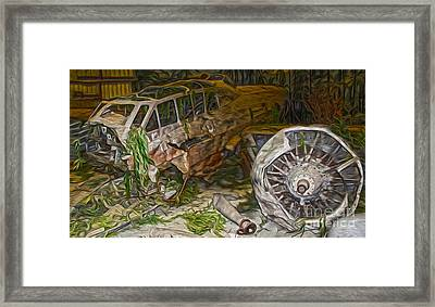 Mitsubishi Betty G4m - 02 Framed Print by Gregory Dyer