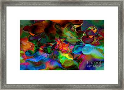 Mixture Of Love Framed Print by Gayle Price Thomas