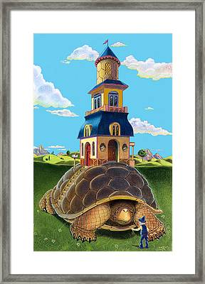Framed Print featuring the mixed media Mobile Home by J L Meadows