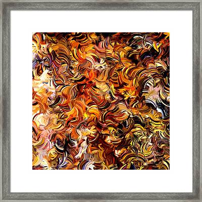 Modern Abstract Xxv Framed Print