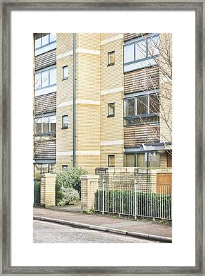 Modern Apartments Framed Print