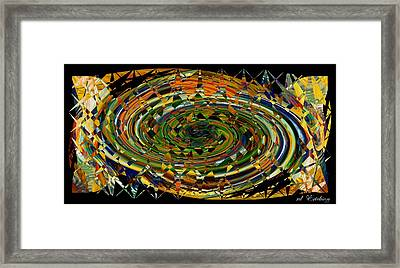 Framed Print featuring the digital art Modern Art I by rd Erickson