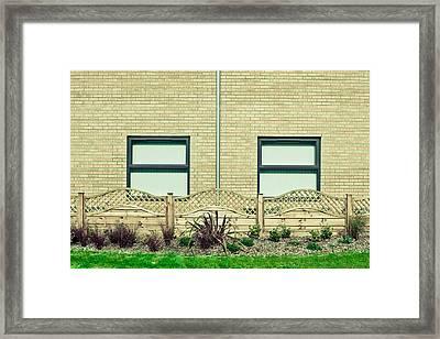 Modern Building Framed Print by Tom Gowanlock