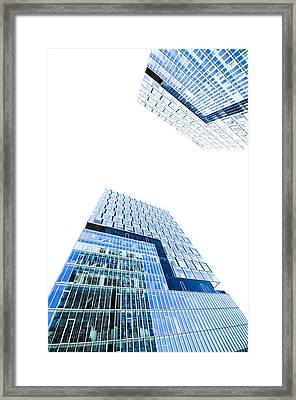 Modern Buildings Framed Print by Ioan Panaite
