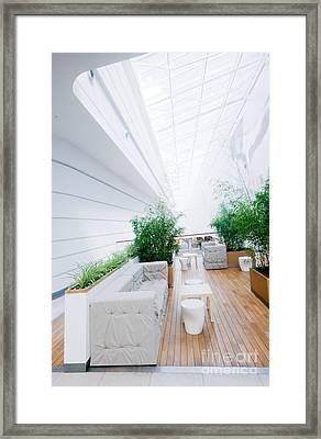 Modern Business Interior Framed Print