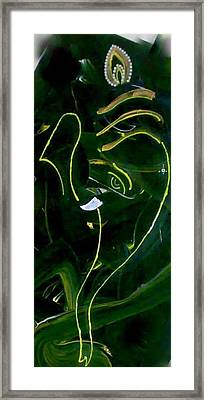 Modern Ganesha Framed Print by Poornima Ravi