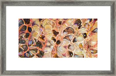 Molten Framed Print by Jubilant  Art