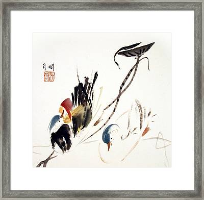 Momentum Framed Print by Ming Yeung