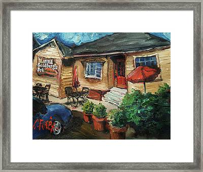 Momma G's Framed Print by Carole Foret