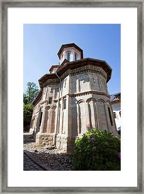 Monastery Manastirea Dintr-un Lemn Framed Print by Martin Zwick