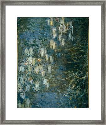 Monet, Claude 1840-1926. Morning Framed Print