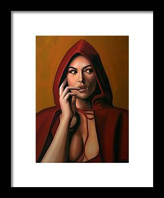 Italian Actress Framed Prints