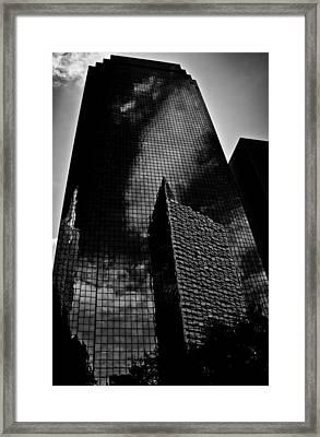Monolith Framed Print by Mark Alder