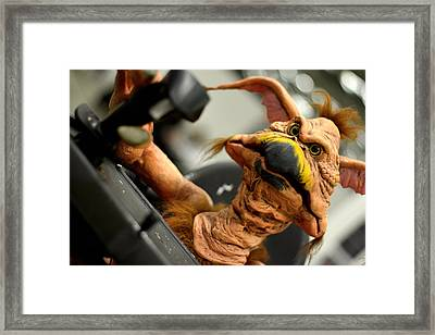 Monster Salacious Crumbes Framed Print by Tommytechno Sweden