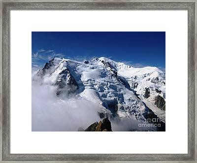 Mont Blanc - France Framed Print