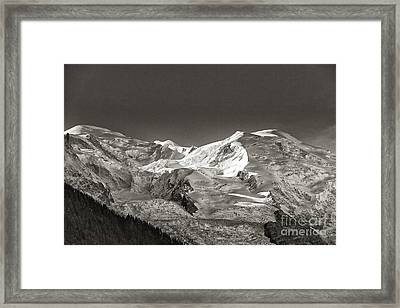 Mont Blanc Group Framed Print by Juergen Klust