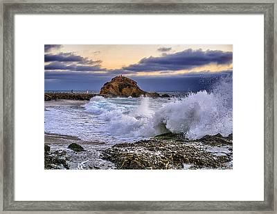 Montage Resort Framed Print by SM Shahrokni
